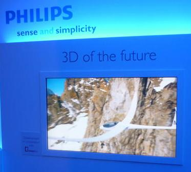 Philips Autostereo at IFA 2010
