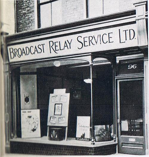 1932 Broadcast Relay Service