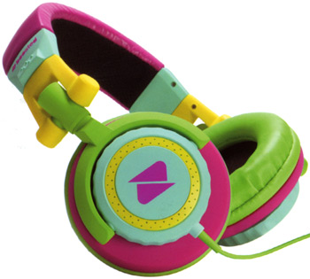 Fred Flare's Sherbet Colorblock Headphones
