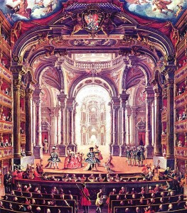 1740 Pietro_Domenico_Oliviero_-_The_Royal_Theater_in_Turin