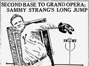 1911-1-22 Pittsburgh Press Sammy Strang