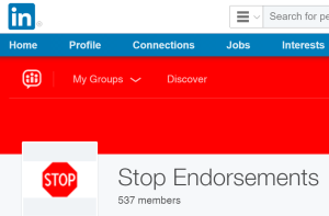 Stop Endorsements