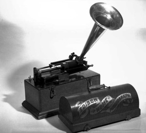 Edison Perfected Phonograph of 1888