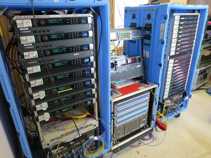 These encoder racks enable ESPN's Portal connecting Bristol and Aspen.
