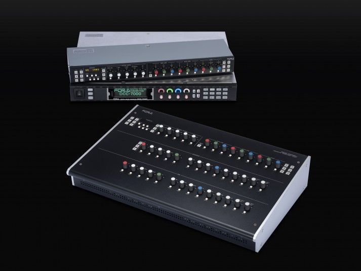 The FOR-A DCC-7000 color corrector enables an individual color to be changed without affecting others.