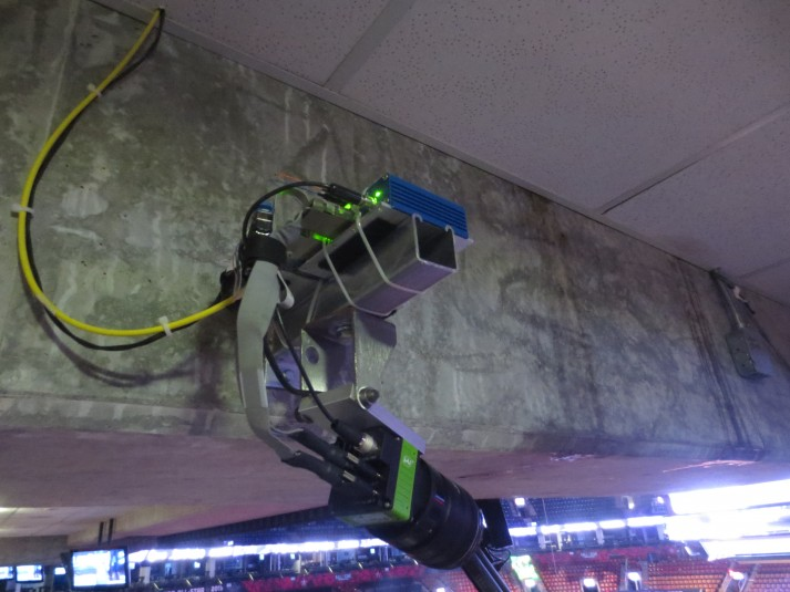 A 5K camera used for the freeD 360 replay system