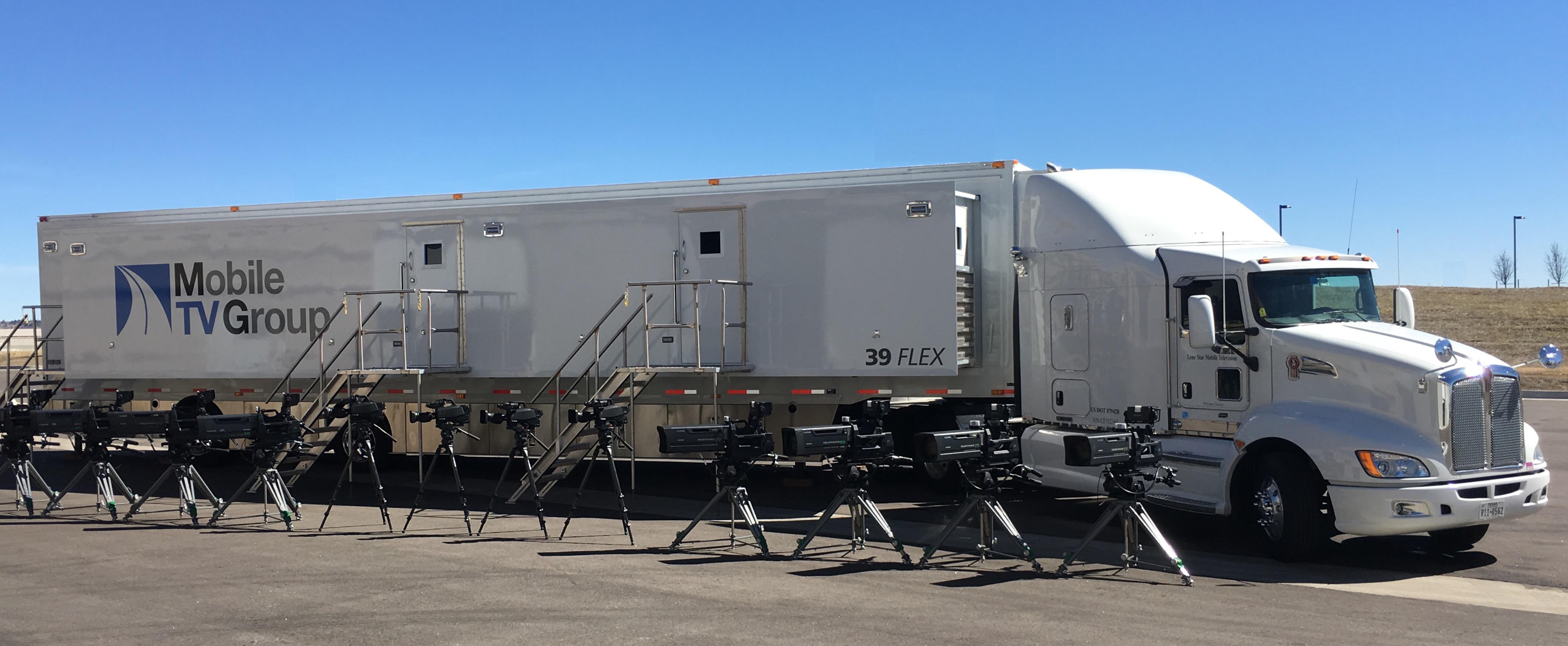 Mobile TV Group's 39FLEX 4K truck will be utilized for CBS Sports' 4K production.