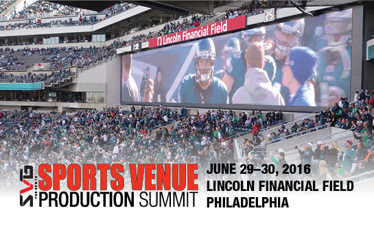 2016 Sports Venue Production Summit Philadelphia