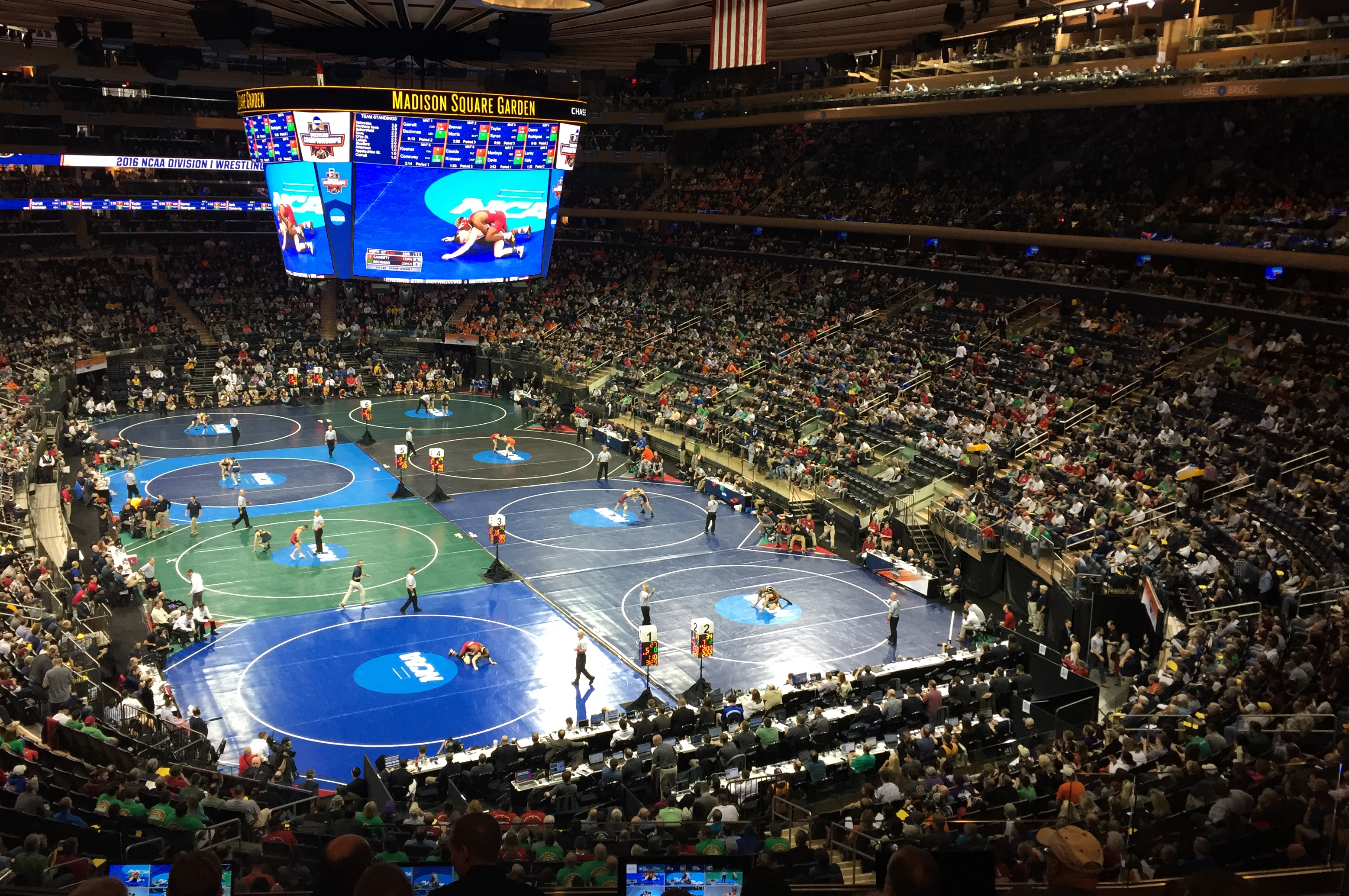 Ncaa Wrestling Championships Is A Multiscreen Marvel From Espn