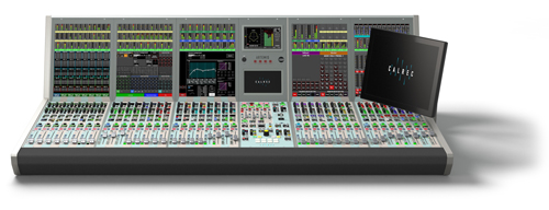 Four Calrec Artemis audio consoles will be divided among flypack venues and the International Broadcast Center in Rio.