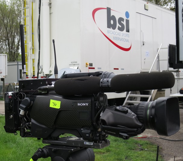 BSI was on hand providing RF camera systems and comms for NFL Media.