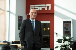 ESPN has appointed Freddy Rolón vice president and general manager of ESPN Deportes.