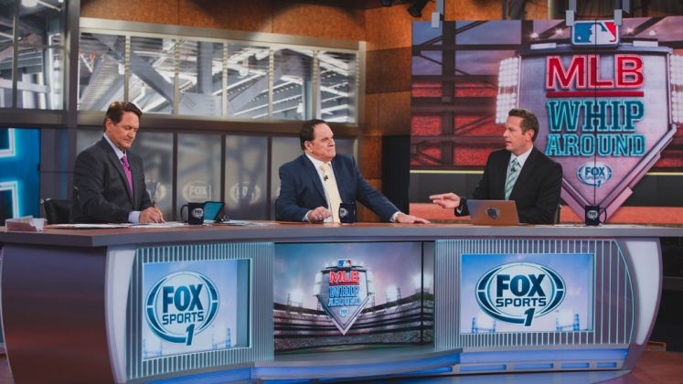 Fox Sports will produce its live MLB Whiparound studio show from the Fox Sports West studio on Thursday to celebrate its season opener in Anaheim, CA.