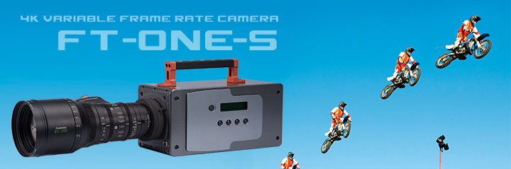 The FT-ONE-S 4K camera cuts down on high frame rate to cut down the price.