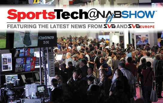 Visit the SVG SportsTech@NAB Show 2017 Blog