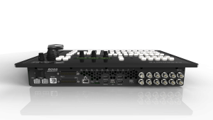 Ross Video's Carbonite Black Solo is a compact switcher with 9 inputs and 6 outputs.