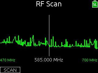 Sound Devices RF Scan feature for 688 mixer/recorder
