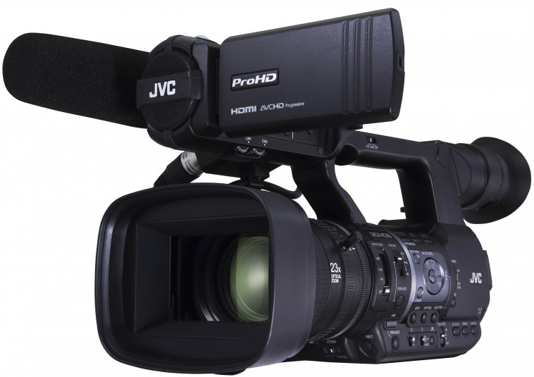 JVC GY-HM660 ProHD mobile news camera