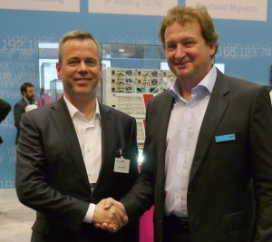 Prof. Dr.-Ing. Thomas Wiegand, Director of the Fraunhofer HHI, and Philipp Lawo, CEO Lawo