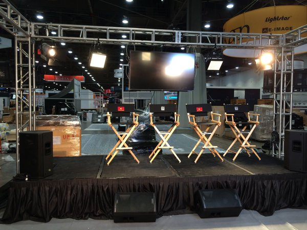 The Studio-B&H live-streamed presentations from its booth at NAB 2016.