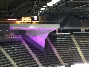 T-Mobile Arena boasts two exclusive bar areas -- the Grey Goose Nest and Stella Artois Loft (seen here) -- that feature bottle service.
