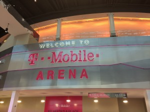 T-Mobile Arena opened on April 6, 2016.