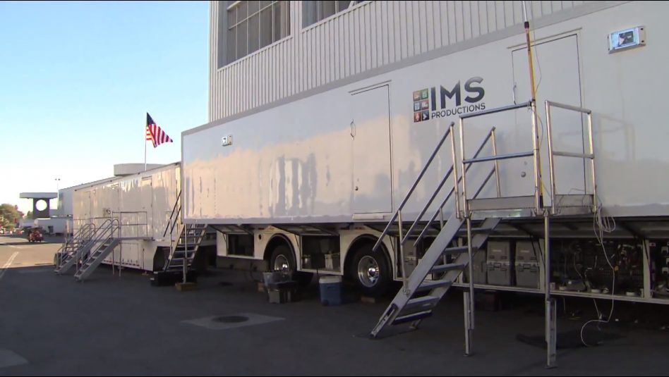 IMS Productions' HD5 is ready to cover the race.