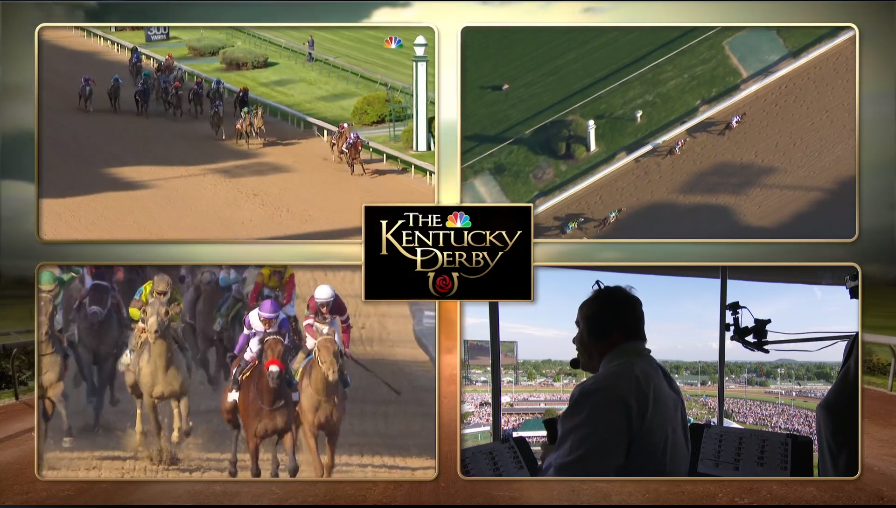 The NBC Sports Live Extra multicamera-feed mosaic experience seen for the Kentucky Derby will return this week for the Preakness Stakes.