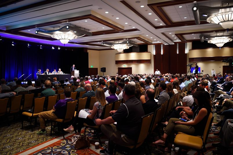 The College Sports Summit offered a full day of panels and other sessions.