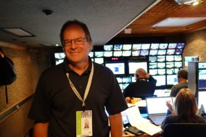 Dan Johnson of NEP Group laid out the broadcast compound for the 2016 U.S. Open Championship.