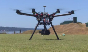 Golf broadcasters have experimented with drone cameras to offer viewers a unique point of view.
