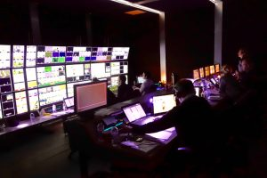 ETP's world feed coverage of the Open Championship for the R&A is produced out of a production gallery based around a Grass Valley Kayenne production switcher.