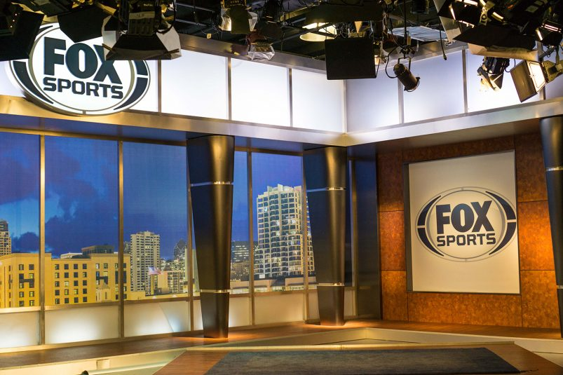 Fox Sports San Diego's primary studio set is inside its headquarters, just steps away from Petco Park.