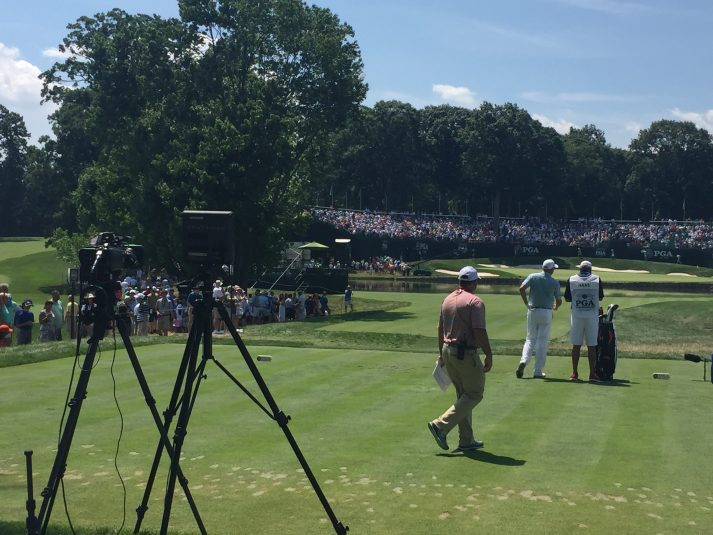 CBS Sports and DirecTV are offering live coverage of hole 4 in 4K at Baltusrol Golf Club during this weekend's PGA Championship.
