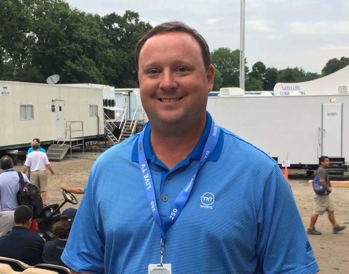 Turner Sports Associate Producer Matt Kane oversees Thursday and Friday live coverage on TNT.