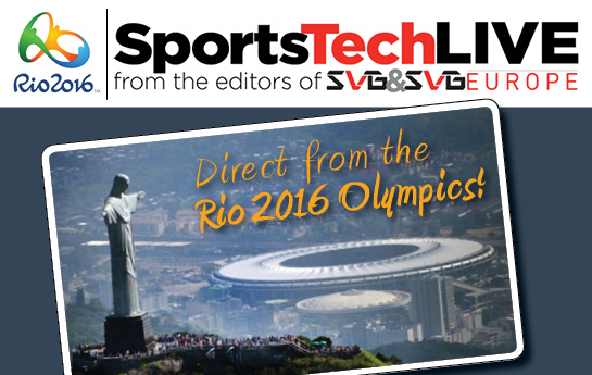 SportsTech Blog: Live From the Rio 2016 Olympics