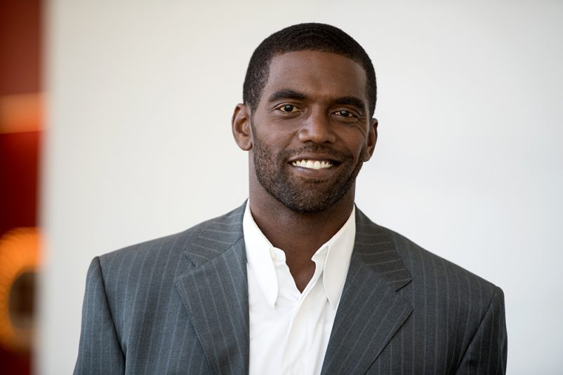 Bristol, CT - July 18, 2016 - DC2: Portrait of Randy Moss (Photo by Joe Faraoni/ ESPN Images)