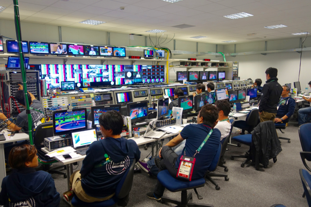 The Japan Consortium is a joint operation among six different Japanese broadcasters.