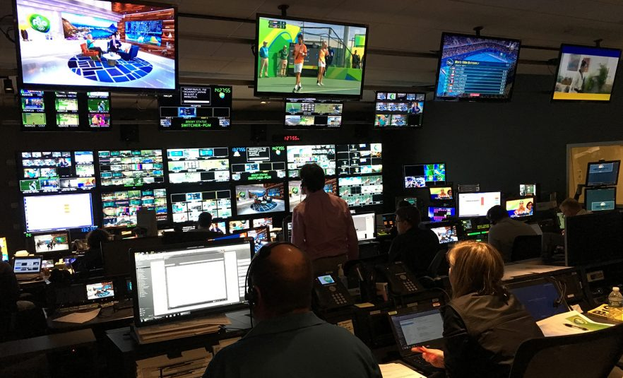 PCR4 is serving as the NBCSN control room, while the studio is located in Rio