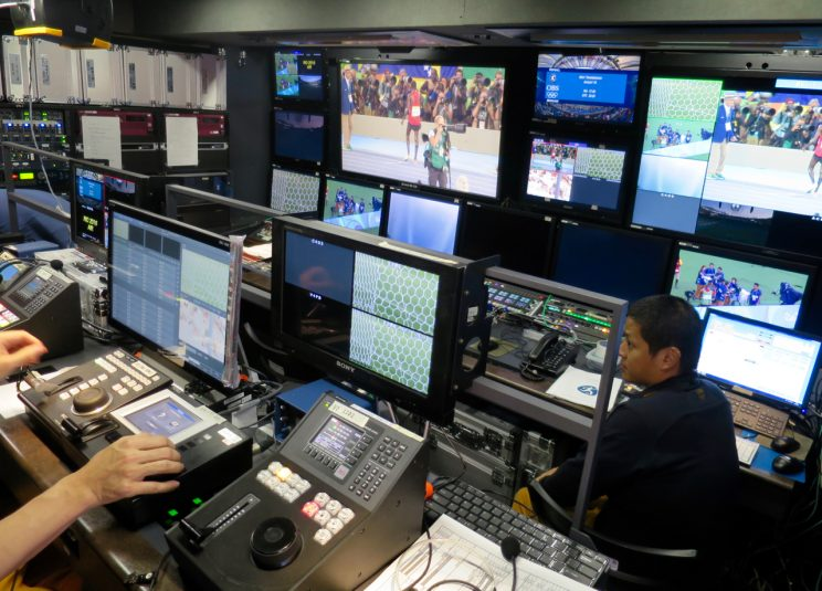 NHK had two 8K production teams at the Rio Olympics.