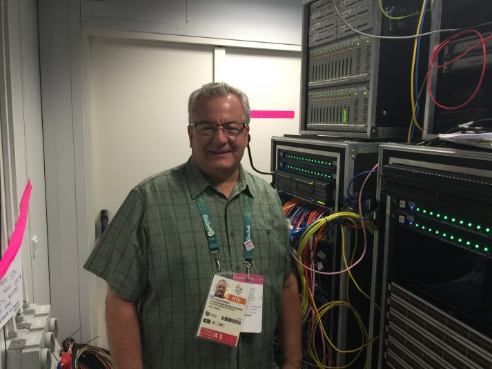 ESPN's Henry Rousseau oversaw implementation of Audivero's Unity Intercom in Rio.
