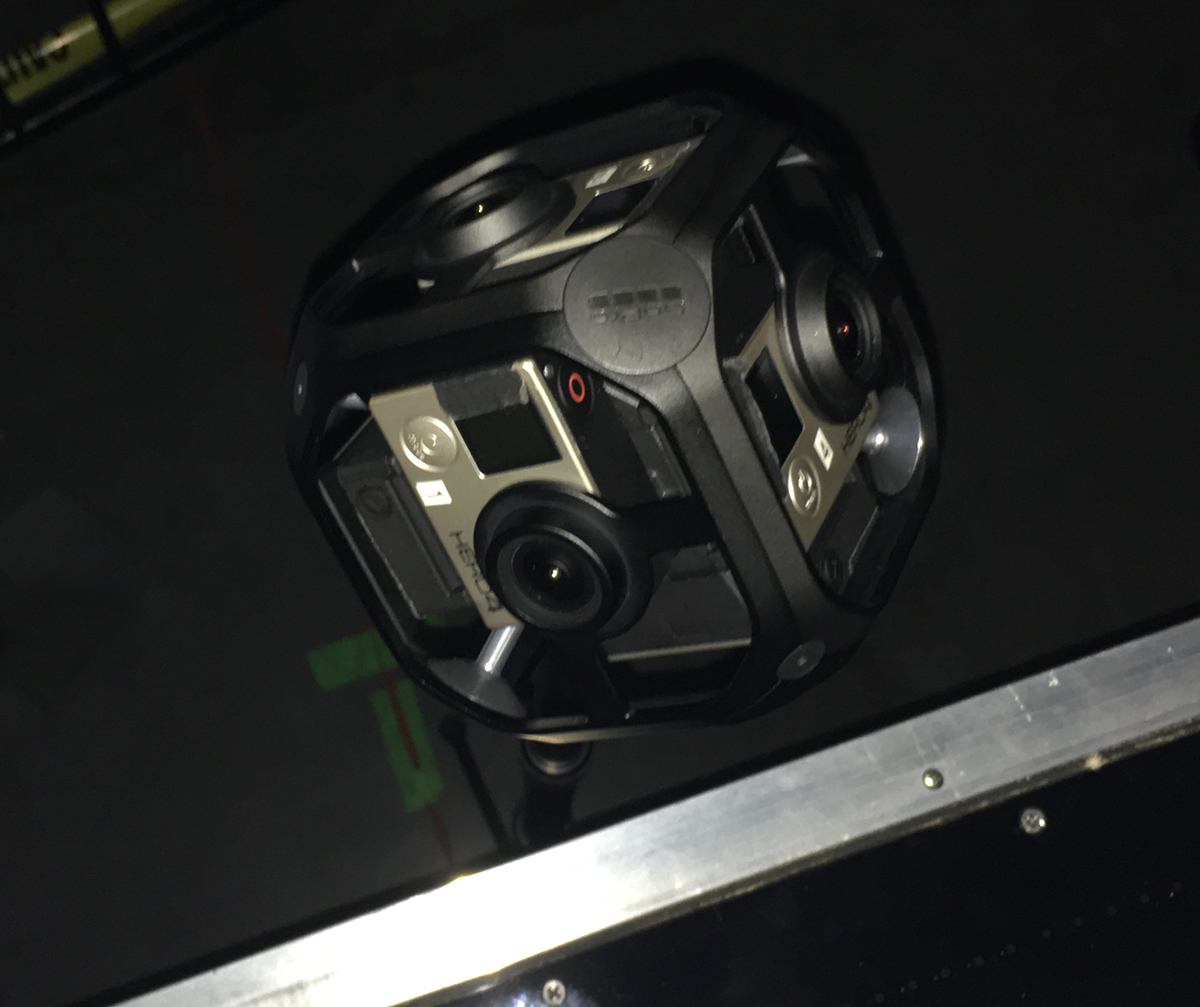 MTV utilized the new GoPro OMNI as part of its VR complement at the VMAs.