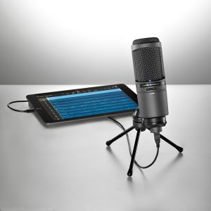 AT2020USBi Cardioid Condenser USB Mic Featuring iOS Compatibility