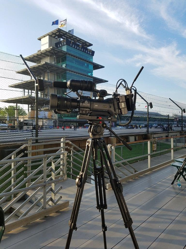 WRTV successfully deployed the JVC Private MESH Video Network at the Indianapolis Motor Speedway, using two cameras to expand its live coverage.