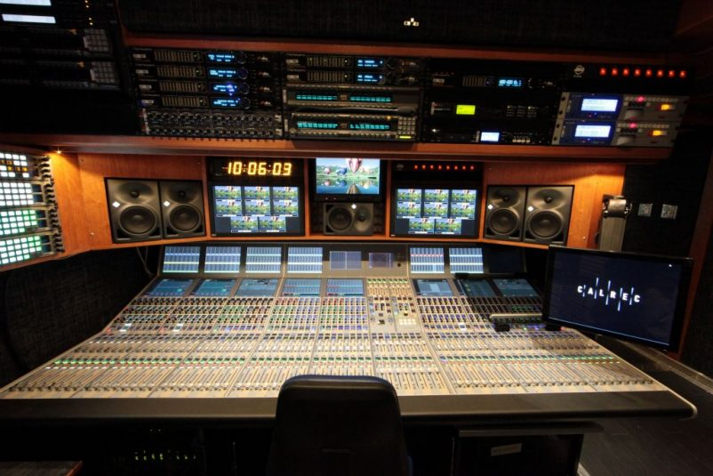 MSG Networks received a significant audio boost with the new Calrec Apollo audio inside Madison.