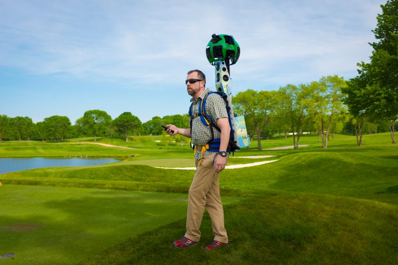 Turner Sports has deployed robust Google Maps and Google Earth technology to offer an in-depth, interactive experience of the Ryder Cup course.