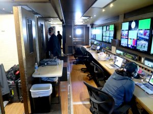NEP's new TS2 B-unit features dedicated workspaces when operating in expanded mode.