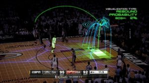The NBA will transition to Second Spectrum player tracking technology for the 2017/2018 season.