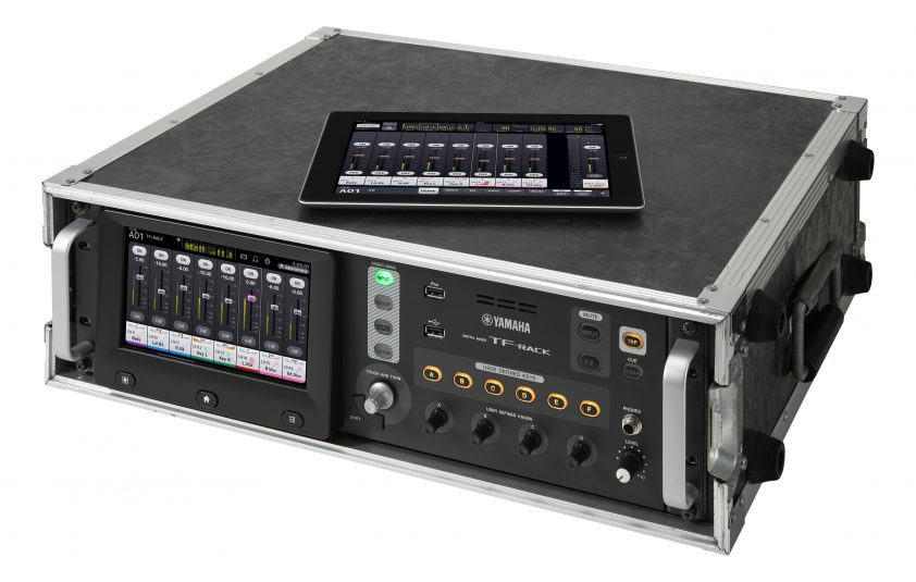Yamaha's new TF-Rack mixer is designed to be rack-mounted.