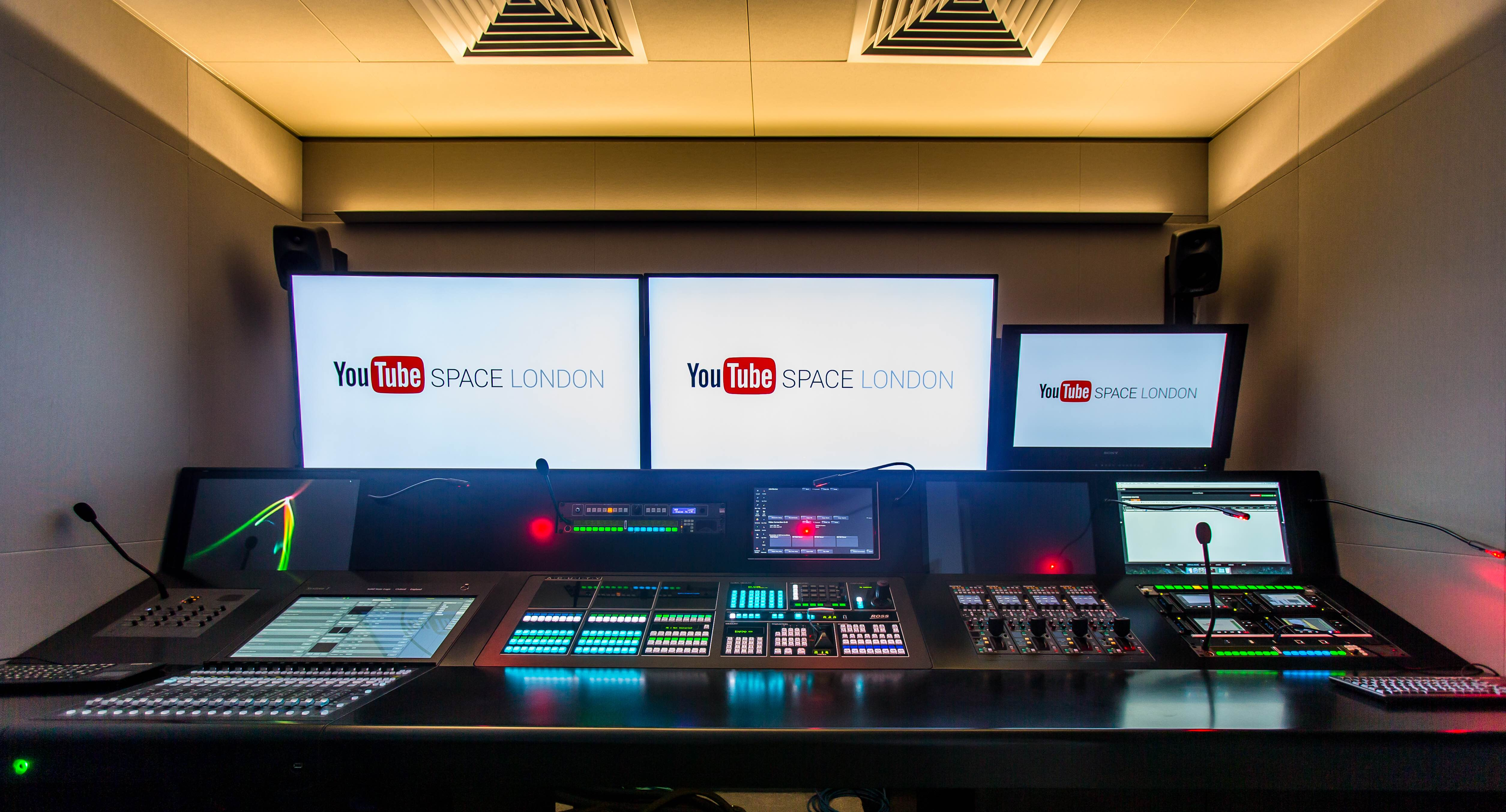 Ibc 2016 Youtube Space London Goes Ip With Evertz Ross